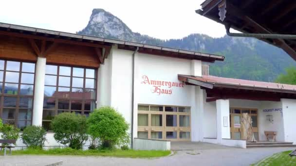 Touristisches Informationszentrum Oberammergau - OBERAMMERGAU, BAYERN - 26. Mai 2020