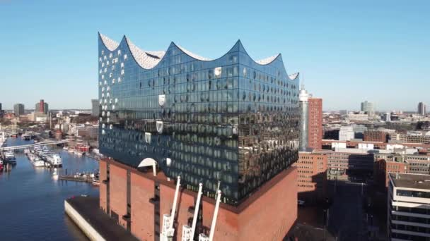 Berühmte Elbphilharmonie in Hamburg - HAMBURG, DEUTSCHLAND - 25. DEZEMBER 2020