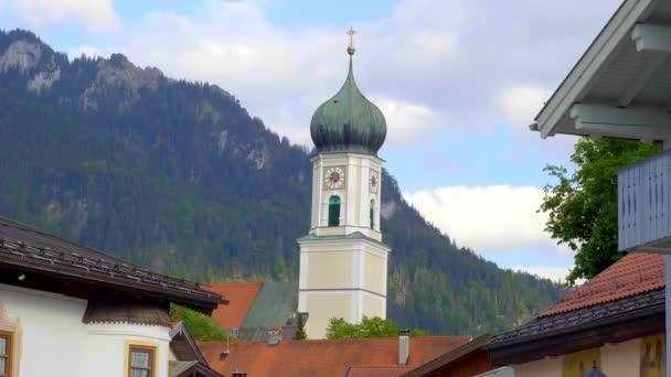 Kirche von Oberammergau in Bayern Deutschland
