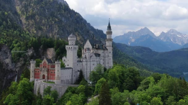 Slavný zámek Neuschwanstein v Bavorsku Německo