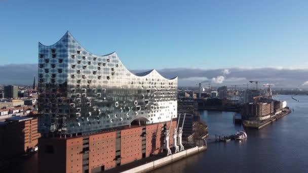 Berühmtestes Gebäude Hamburgs - die Elbphilharmonie - HAMBURG, DEUTSCHLAND - 25. DEZEMBER 2020