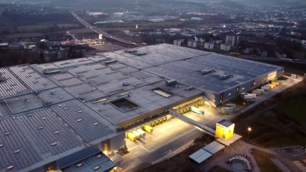 Amazon Logistics Center Germany in Bad Hersfeld - CITY OF BAD HERSFELD, GERMANY - MARCH 10, 2021