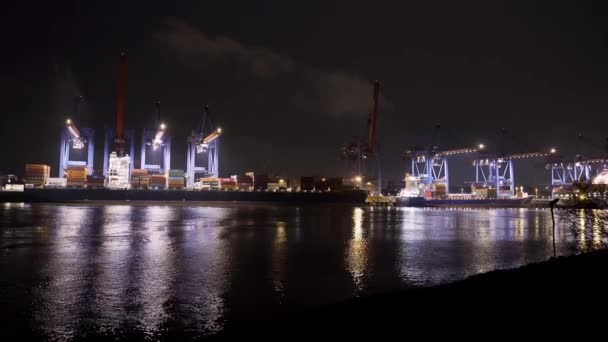 Container terminal Altenwerder in the port of Hamburg