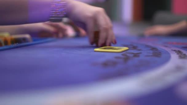 Black Jack - gewinnen zählen Glücksspiel Chips und Zahlung