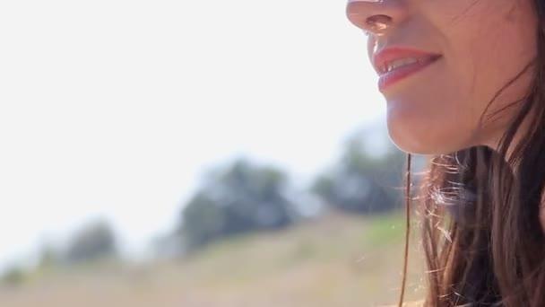 girl in the summer field
