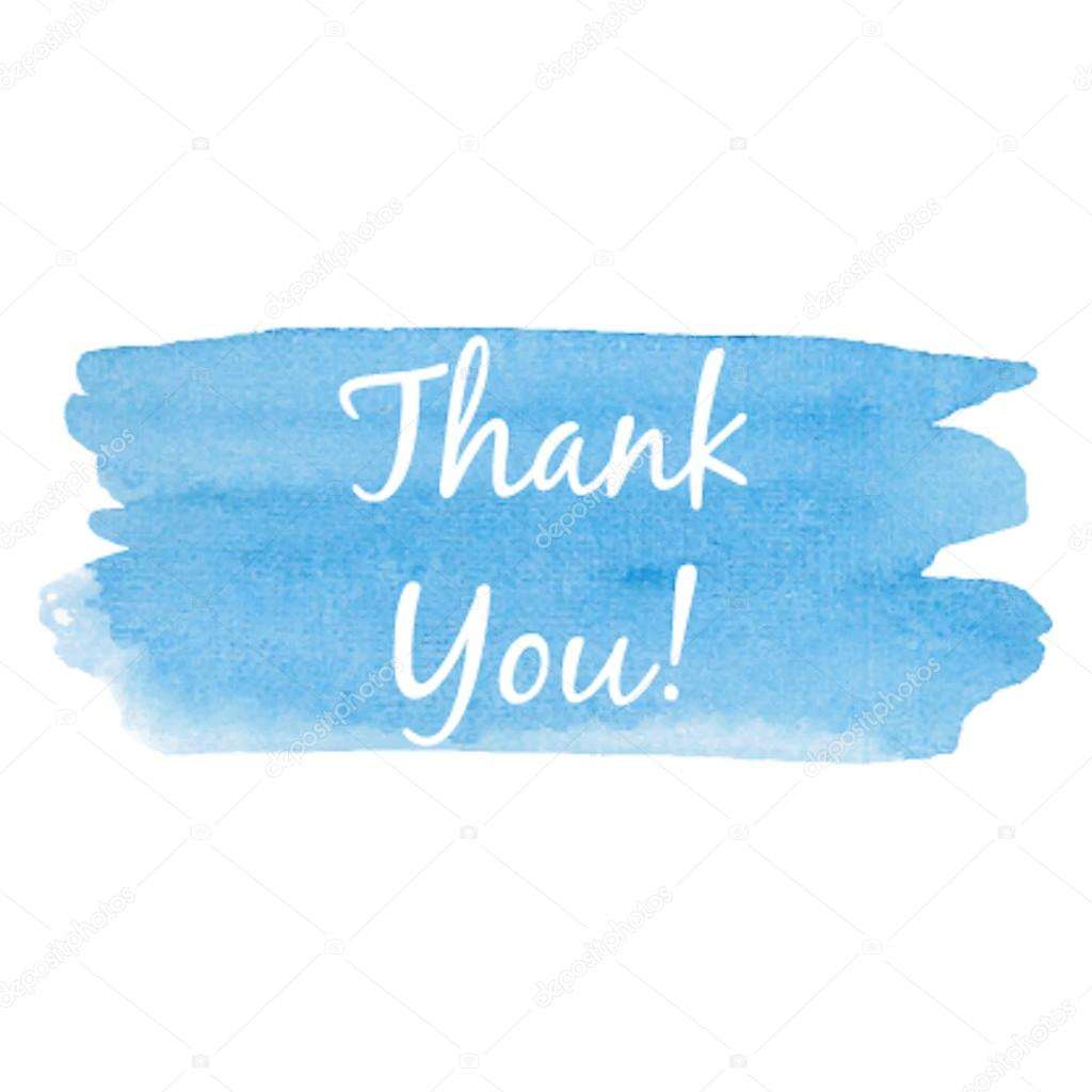 thank you card vector illustration hand drawn icon