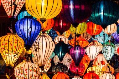 lot of Chinese lanterns