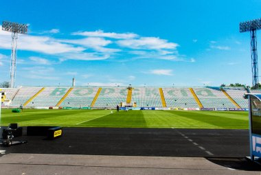 Oleksiy Butovskyi Vorskla Stadium
