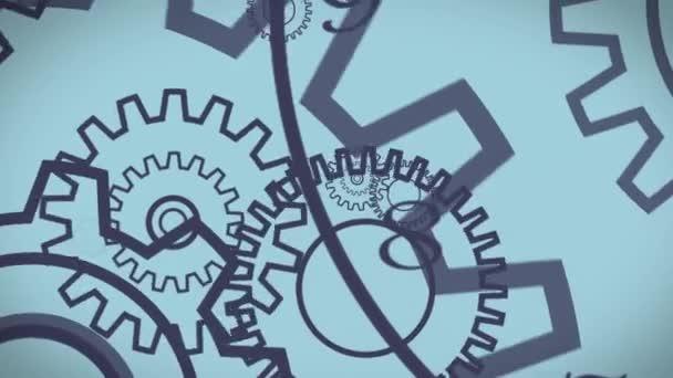 Gear wheels animation