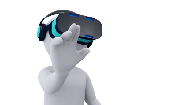 Virtual-Reality - stickman