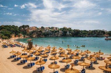 Beach in Porto Cristo on Mallorca, Balearic Islands, Spain