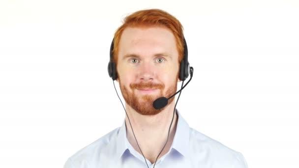Portrét zákaznický servis reprezentativní pracovní