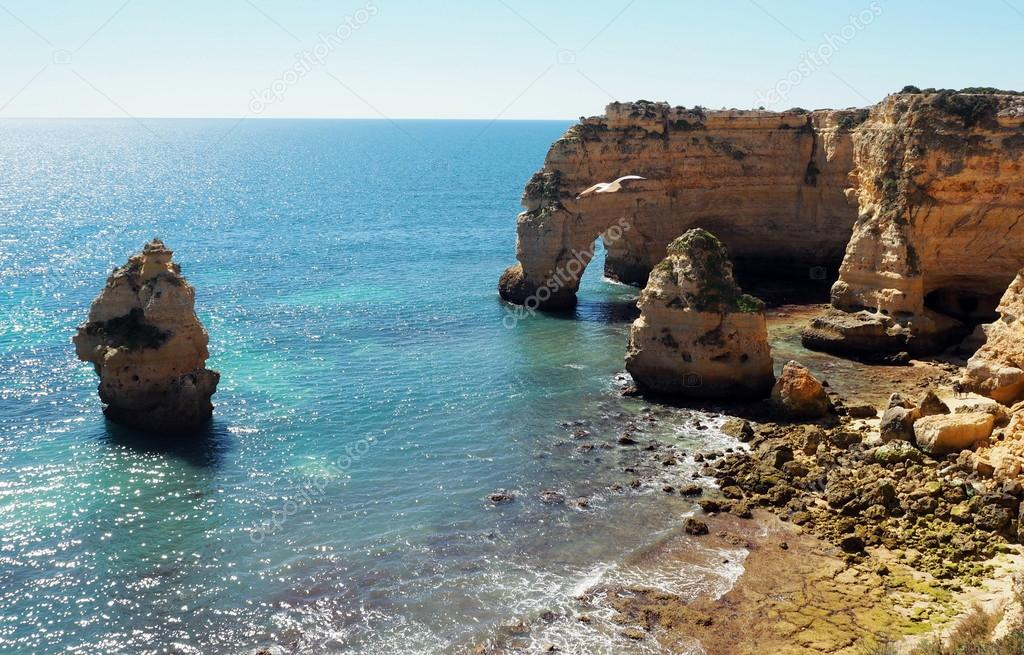 Algarve beaches. Portugal.