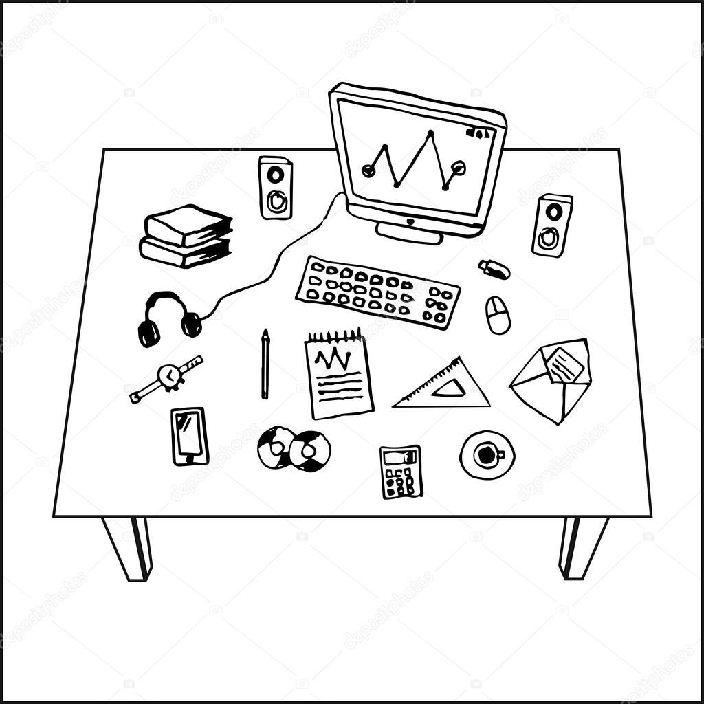 Imágenes Computadoras De Escritorio Para Dibujar