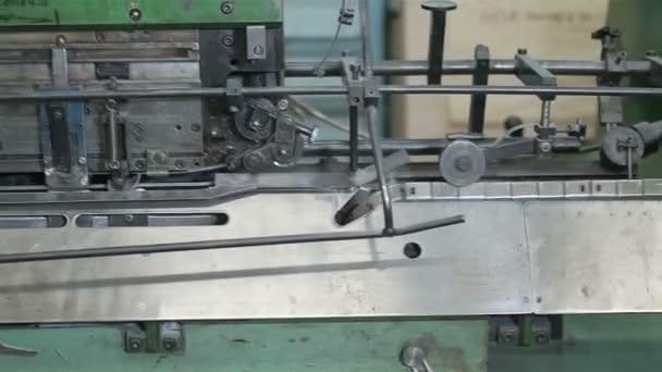 složitý stroj, tisk, klip, 1080p, 50fps