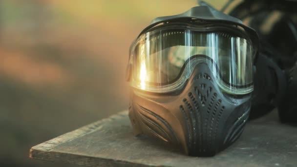 Paintball sportovní ochranné pomůcky masky