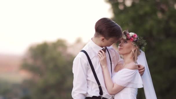 nevěsta a ženich v lásce