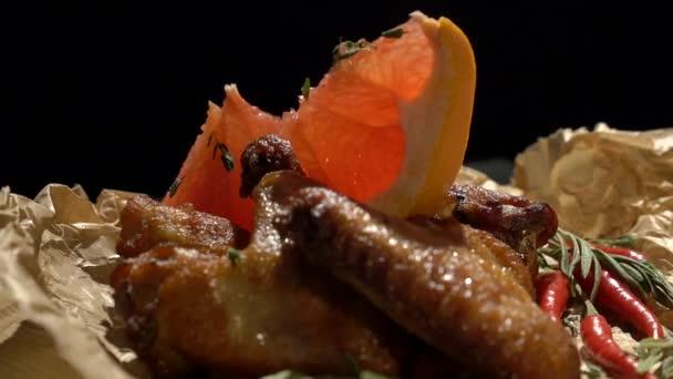 Grapefruit forgó csirkeszárny