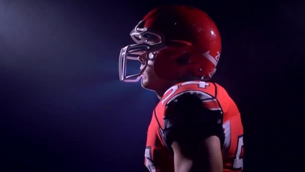 Amerikai futball playermotivation, a füst
