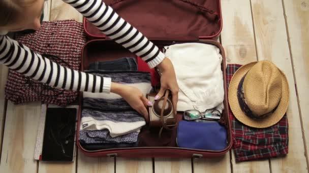 Příprava na cestu a balení zavazadel