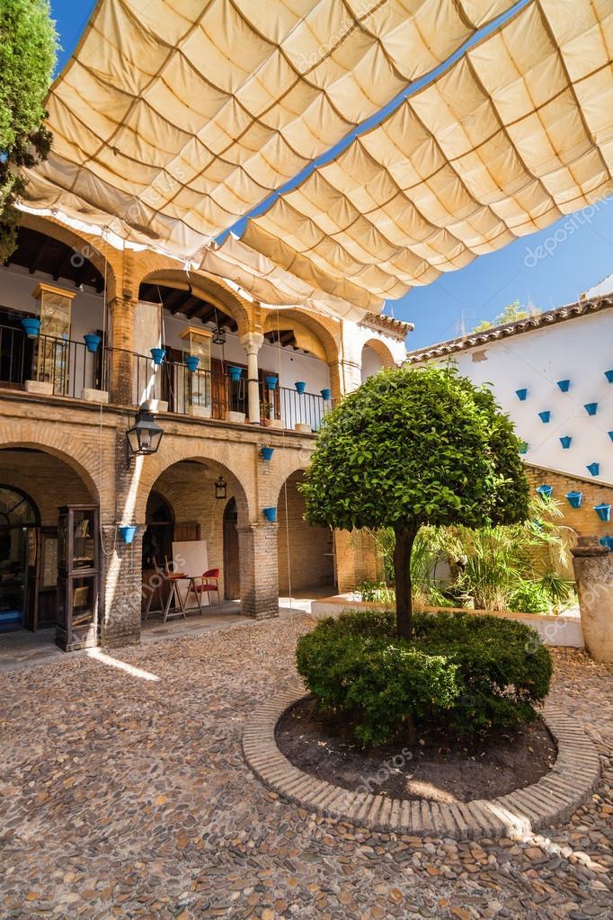 Cortile interno tipico andaluso spagnolo patio for Piani di patio