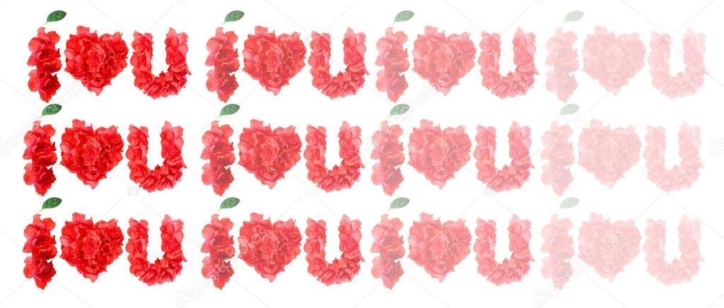 form of I LOVE YOU
