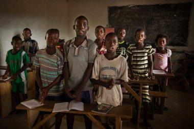 Mabendo, small village in Sierra Leone, Africa