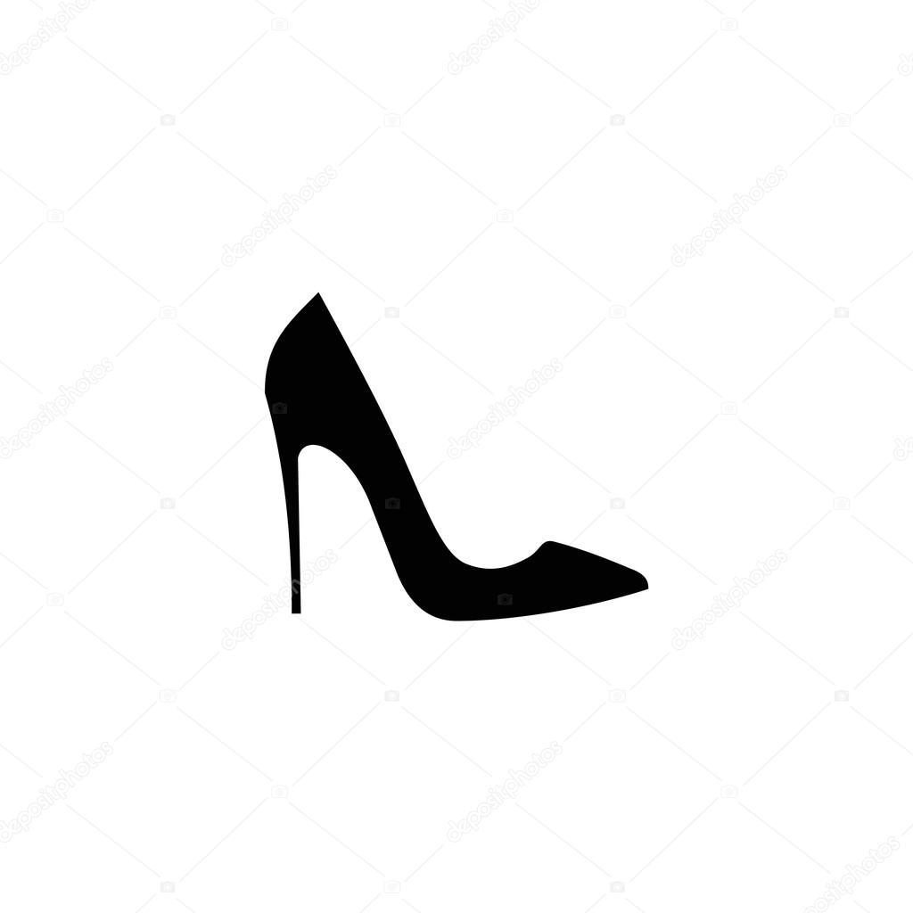 best website cfd4b e6744 Nero scarpe da donna icona — Vettoriali Stock © Asakura1102 ...