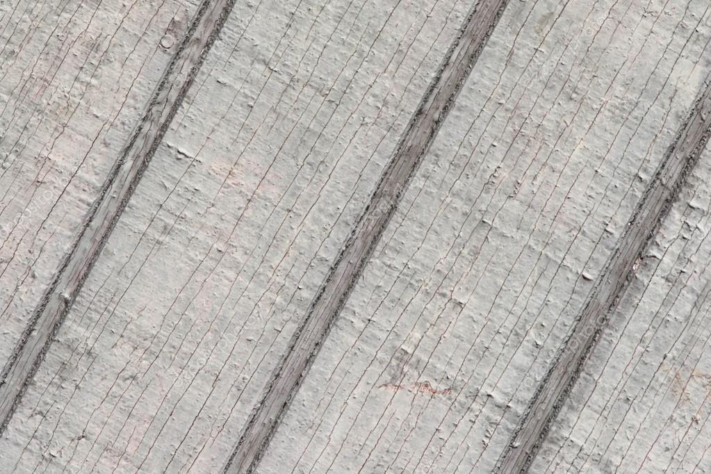 Gris à L Extérieur Du Mur Fissuré Peinture Diagonal