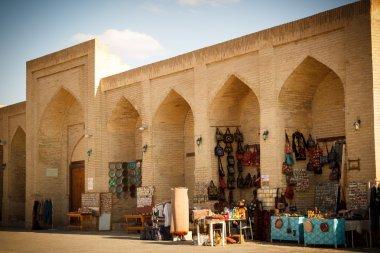 Bukhara, Uzbekistan: The Taqi Sarrafon market in the old city centre