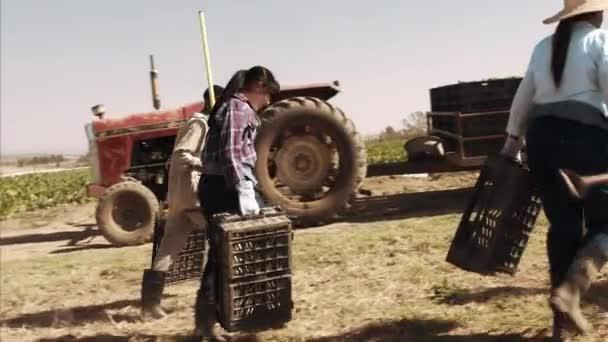 Happy zemědělství pár