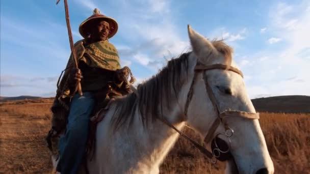 Afrikai herder lovaglás ló