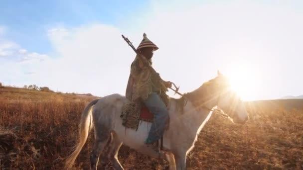 stará Africká herder jezdecké koně