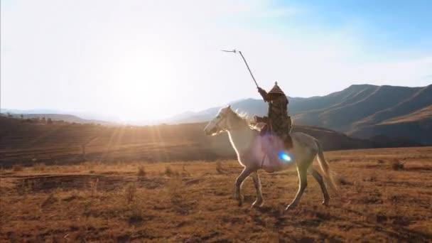 autentické herderriding koně