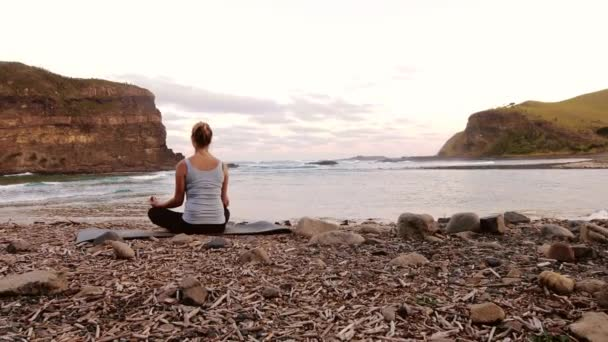 Healthy independent female yoga practitioner