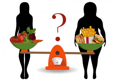 Concept of weight loss, healthy lifestyles, diet, proper nutriti