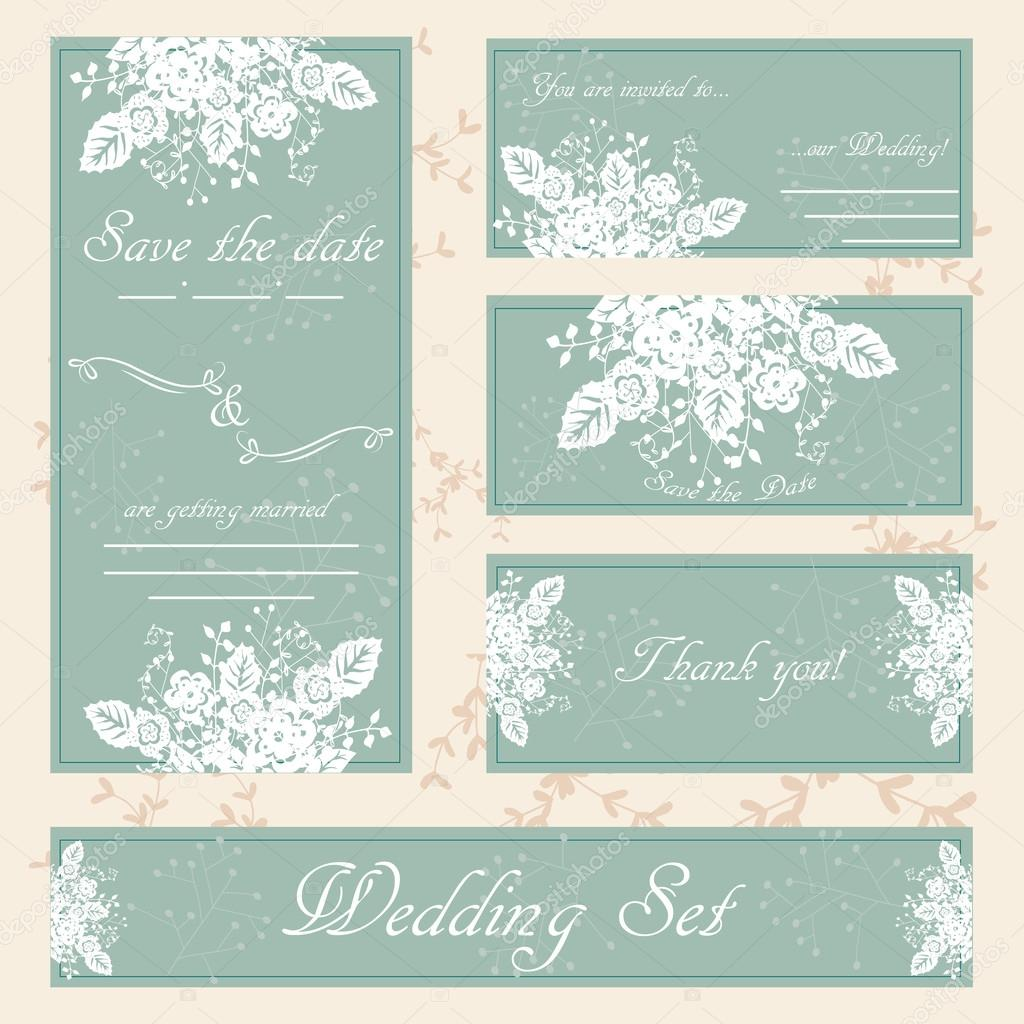 Hand drawn wedding invitation card boho style vector floral il hand drawn wedding invitation card boho style vector floral il vetor de stock stopboris Gallery