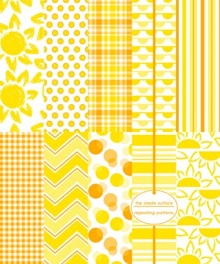 Yellow Scrapbook Paper, Sun, Summer
