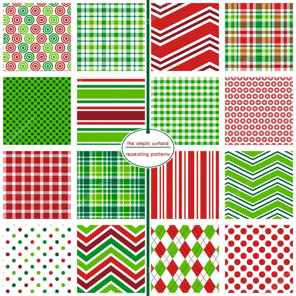 Nahtlose Muster Urlaub. Weihnachten Geschenkverpackungen. Weihnachts ...