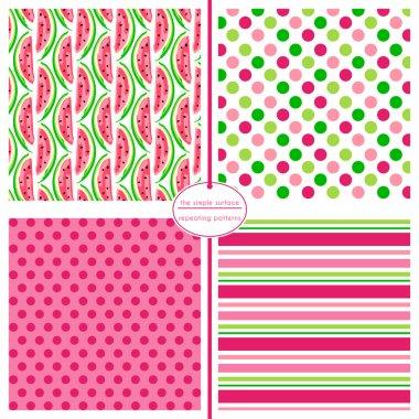 Watermelon Background Pattern