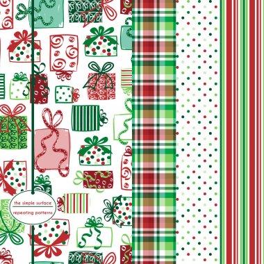 Christmas Gift Seamless Pattern
