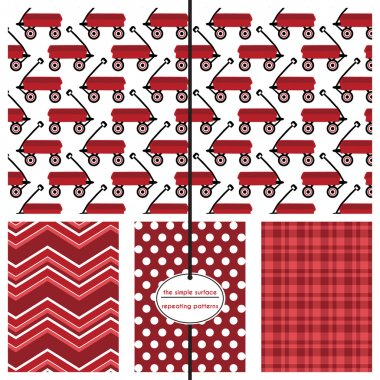 Red Wagon Pattern