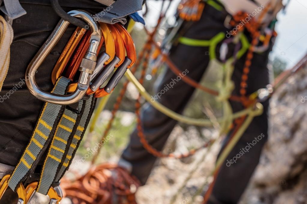 Kletterausrüstung : T kletterausrüstung u hier mein setup team dob dobine