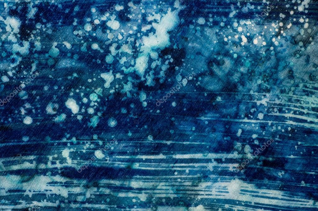 Abstraction, turquoise and violet, hot batik, background texture