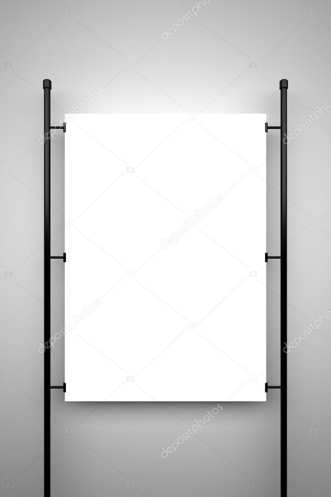 blank poster mockup stock photo bluevistadesign 101941982