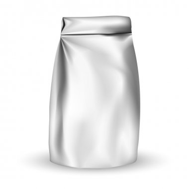Foil packaging bag for snack or take away