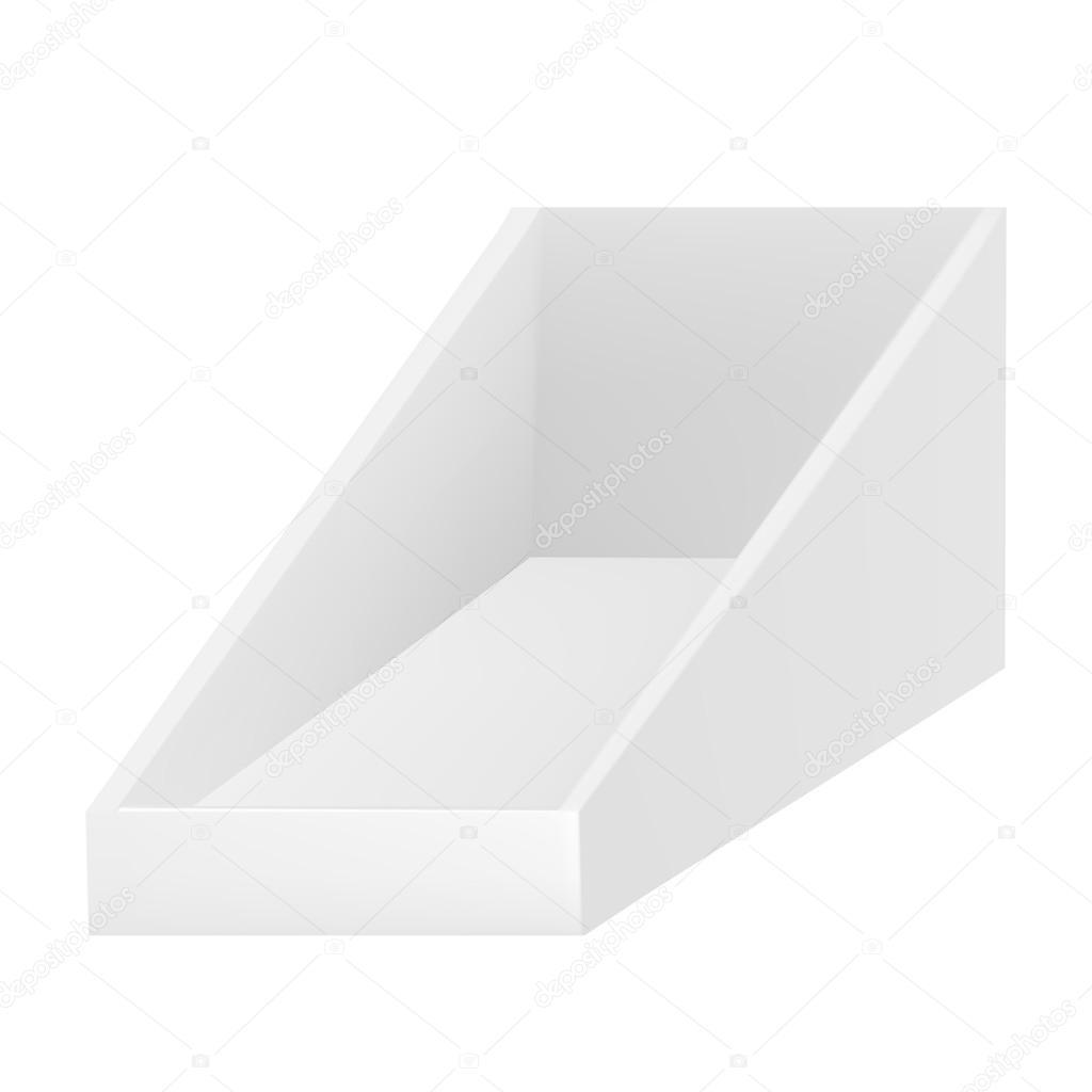 Dreieckige leer Show Box Halter für Broschüren, Zeitschriften ...