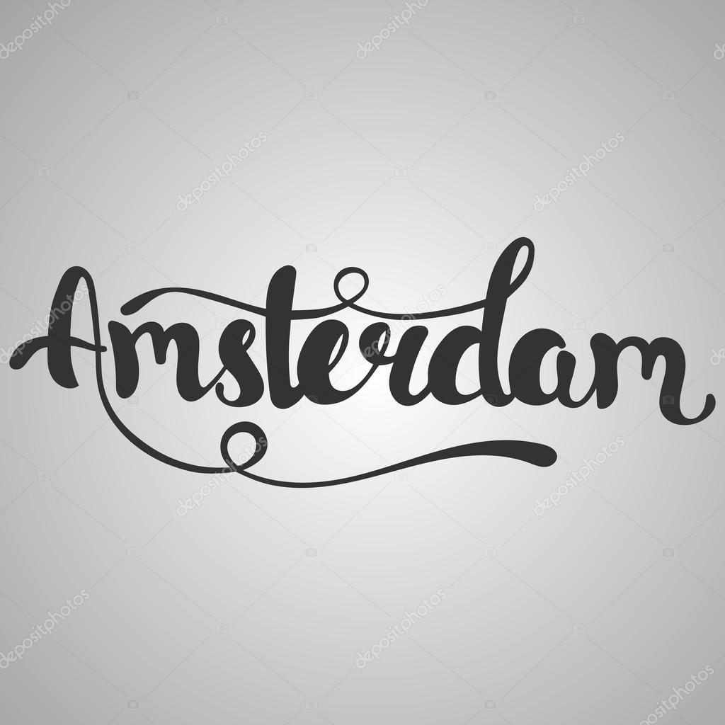 Картинки с надписью амстердам