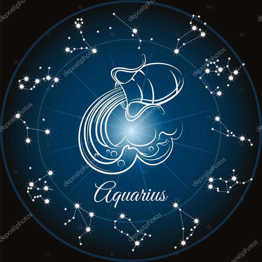Zodiaque Signe Verseau Image Vectorielle Vectortatu C 113592816