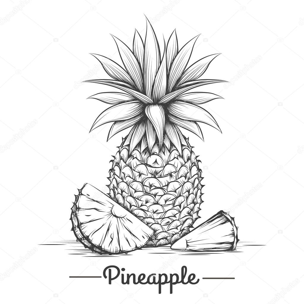 Doodle sweets pineapple